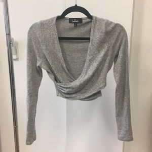 Lulus Cropped Sweater